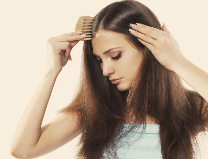 تقویت موهای چرب