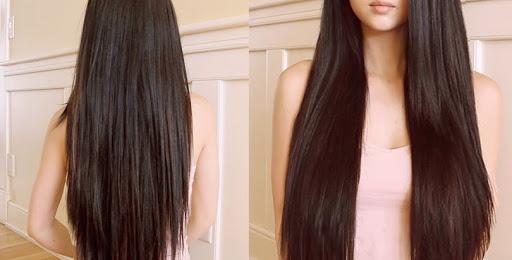 رشد مو در یک ماه