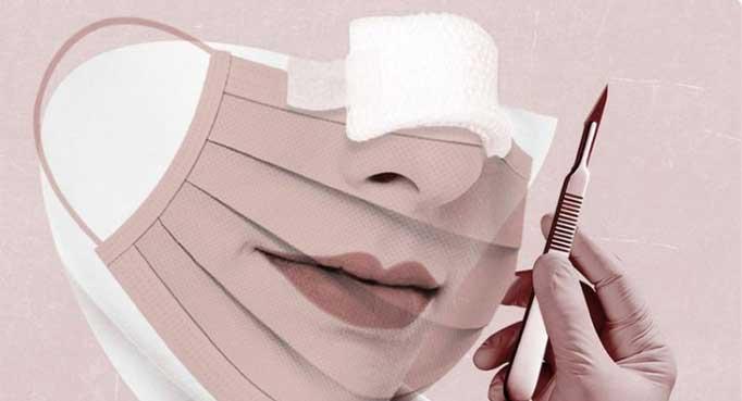 روش استفاده درست از ماسک بهداشتی بعد از جراحی بینی