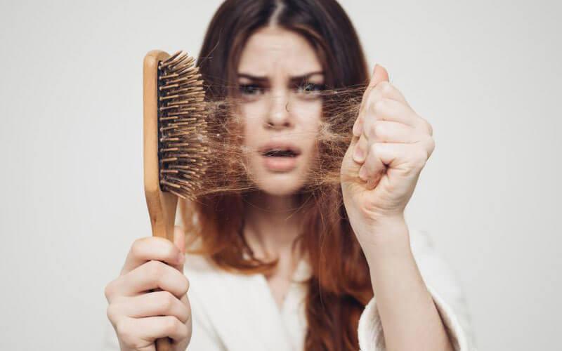 رژیم غذایی برای جلوگیری از ریزش مو