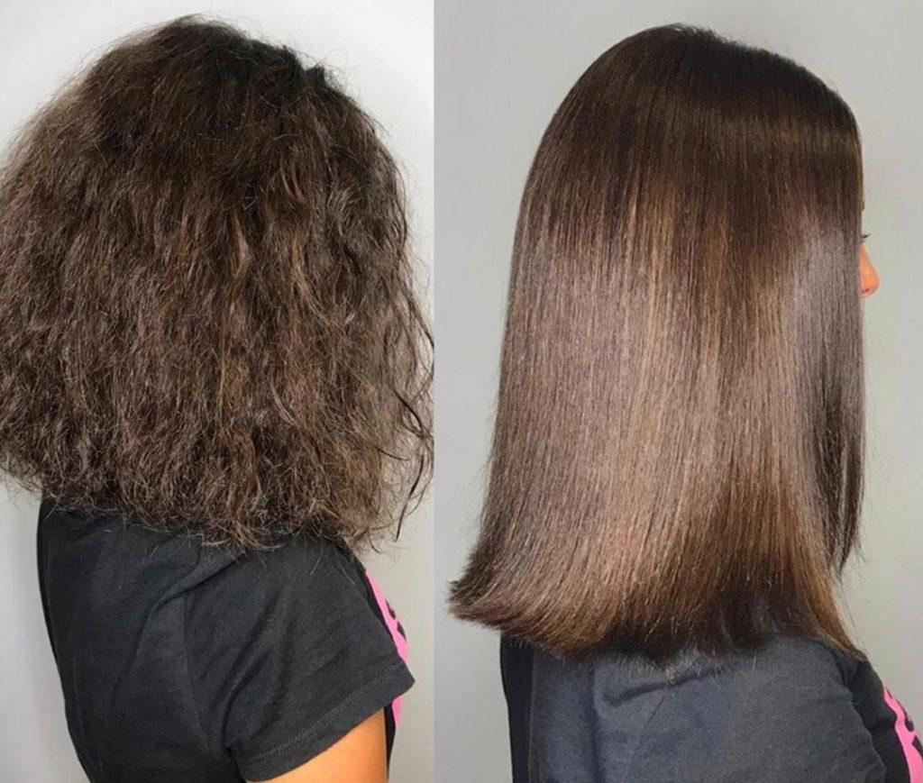 انواع روش های صاف کردن مو